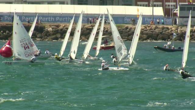 Vorschaubild zu ISAF WM Perth – Tagesberichterstattung 11.12.11
