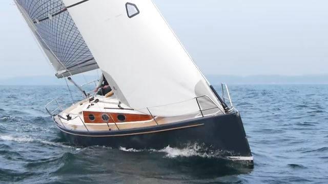 Vorschaubild zu Yacht Test – Schlank, schnell und trailerbar: Probeschlag mit der Clarc 33