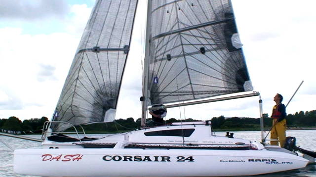 Segel trimaran  Yacht Test – Corsair Dash im Test: Trimaran für Jedermann? | segel ...