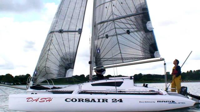 Vorschaubild zu Yacht Test – Corsair Dash im Test: Trimaran für Jedermann?