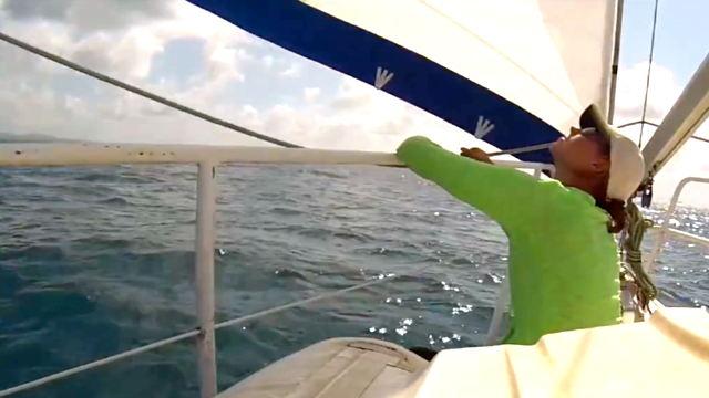 Vorschaubild zu Nike Steiger (Untie The Lines, White Spot Pirates) – Zu Besuch bei segel-filme.de