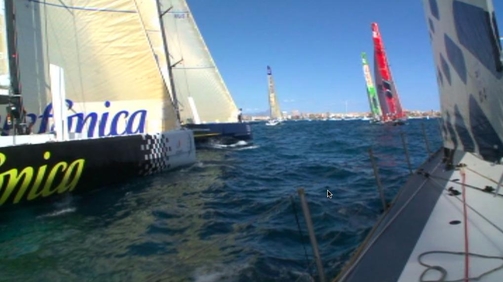 Vorschaubild zu Volvo Ocean Race 2008/2009 – Inport Race vor Alicante