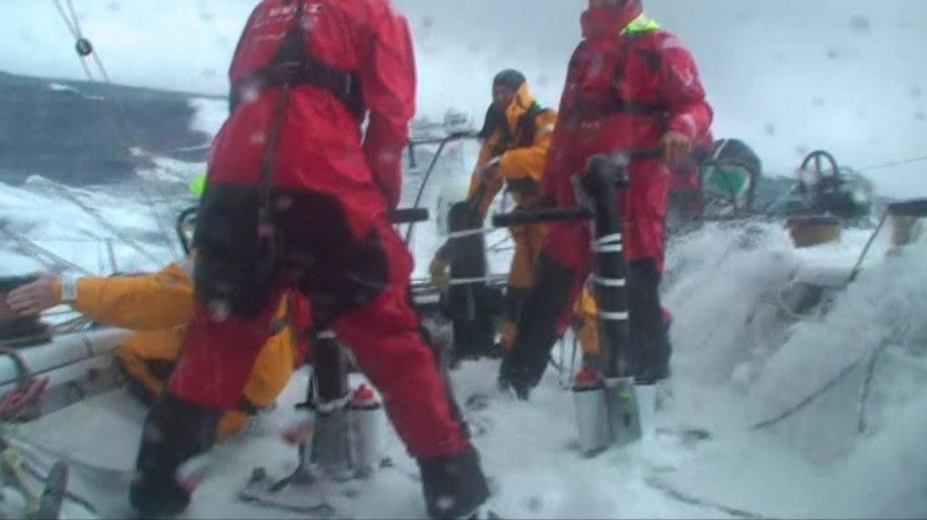 Vorschaubild zu Volvo Ocean Race 2008/2009 – Das Video zur ersten Etappe