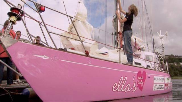 """Vorschaubild zu Jessica Watson und ihre """"Pink Lady"""""""