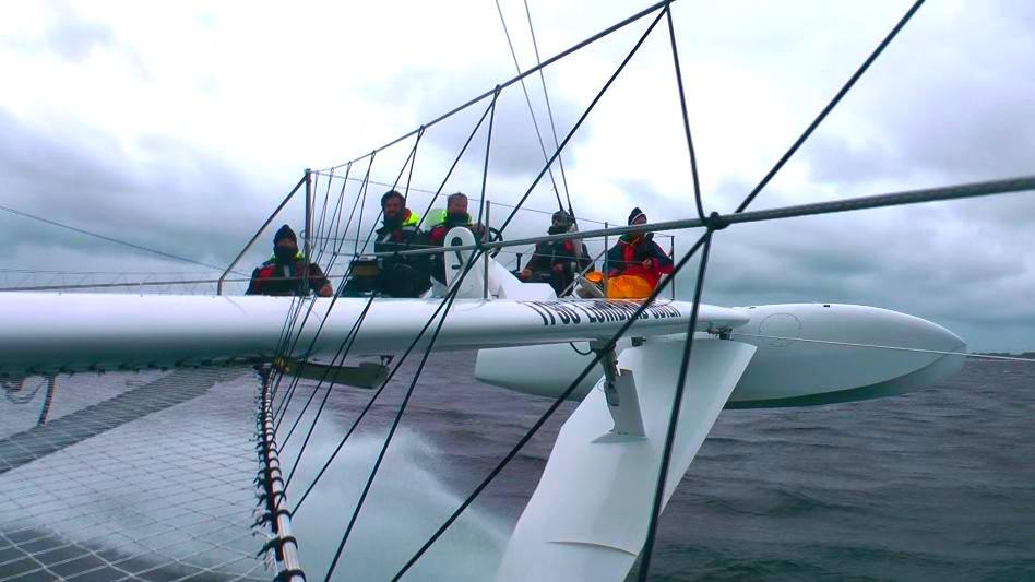 Vorschaubild zu Die Hydroptère auf der Kieler Woche 2010