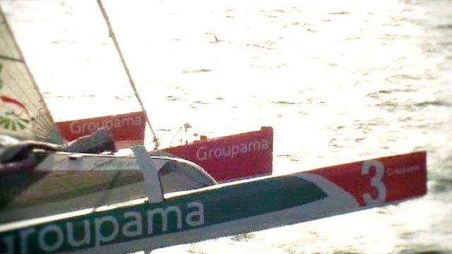 """Vorschaubild zu Jules Verne Trophée – An Bord der """"Groupama 3"""""""