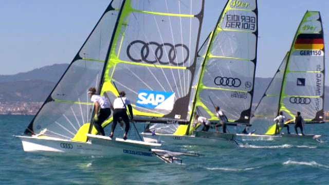 Vorschaubild zu Regattasegeln – Bootsbeherrschung und Speed