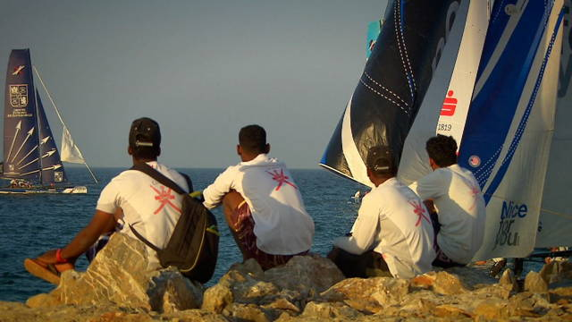 Vorschaubild zu Saisonauftakt zur Extreme Sailing Serie in Muscat/Oman