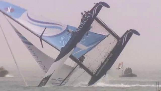 Vorschaubild zu 2. Etappe der Extreme Sailing Serie in Quindao/China