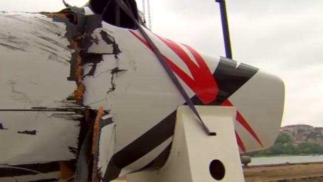 Vorschaubild zu Die Extreme Sailing Serie in Istanbul – Pech für Roland Gäbler