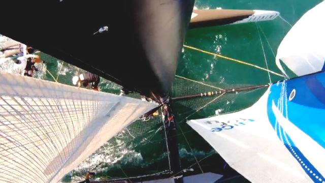Vorschaubild zu 5. Etappe der Extreme Sailing Serie in Cowes – Die Zusammenfassung
