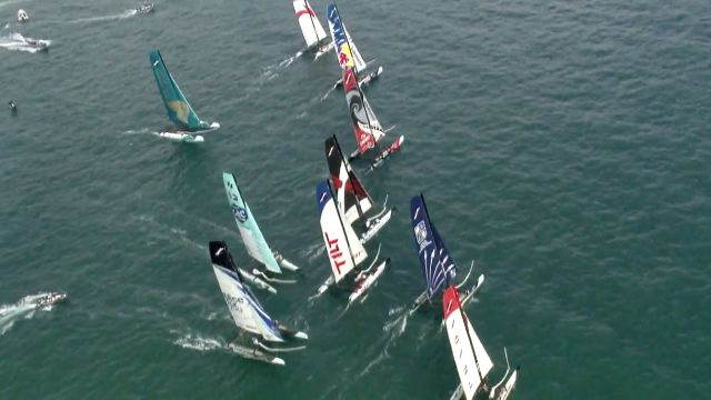 Vorschaubild zu Extreme Sailing Series: Favoritensterben in Almeria