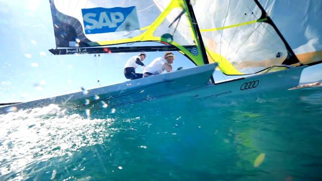"Vorschaubild zu Audi Sailing Team Germany – Saisoneröffnung beim ""Trofeo S.A.R. Princesa Sofía"", Mallorca"