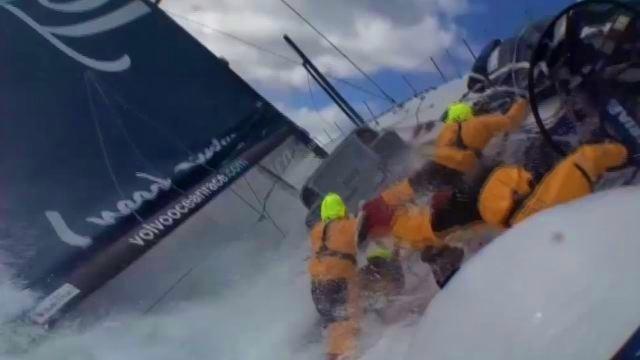 Vorschaubild zu Volvo Ocean Race 2011/12 – Etappe zwei bis fünf