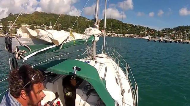 Vorschaubild zu Einhand um den Atlantik  Teil 4 – Von Grenada nach Guadeloupe