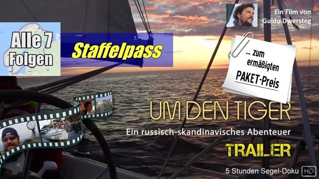 """Vorschaubild zu Guido Dwersteg """"Um den Tiger"""" Trailer"""